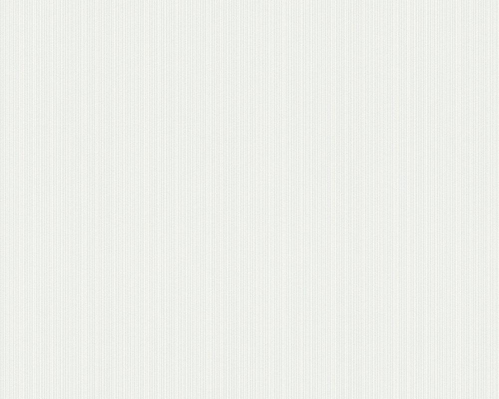 Tapete 301961 - Papel pintado blanco y plata ...